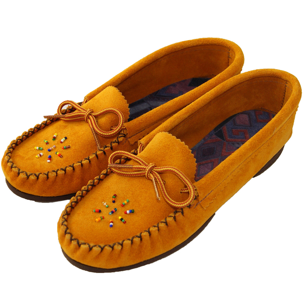 Women's Beaded Moccasins