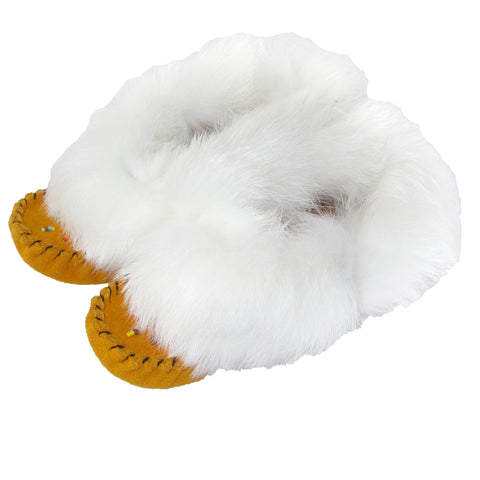 Junior Moccasins with Fur