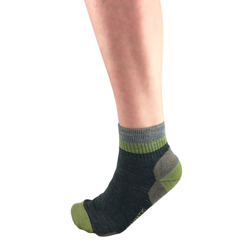 "Hiking Block Stripe Light Mini-Crew 2 ½"" Merino Wool Socks 2560"