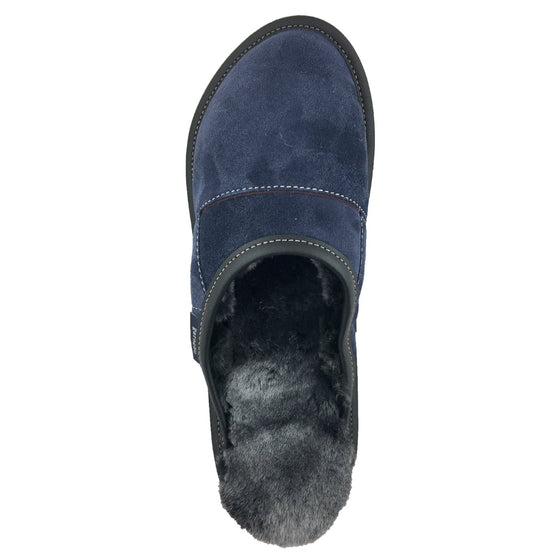 Men's Sheepskin Slip-On Slippers