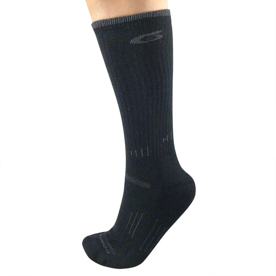 Hiking Essential Light Crew Merino Wool Socks