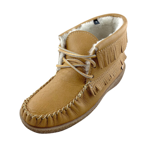 Men's Apache Sheepskin Lined Moccasin Boots 739385CKM