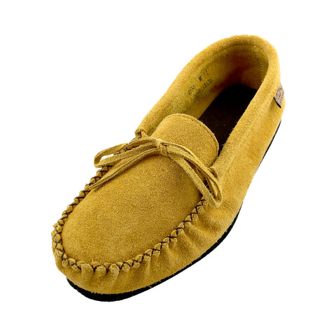 Men's Indian Tan Suede Moccasins 8538 (Size 11 ONLY)