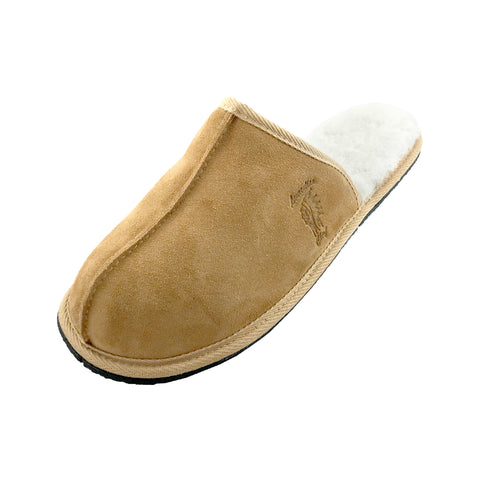 Men's Sheepskin Slip-On Slippers 870 (Size 10 & 12 ONLY)