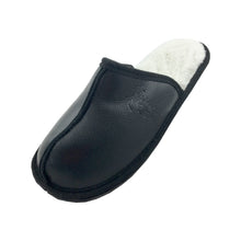 Women's Sale Sheepskin Black Slip-On Slippers 871 (Size 9 ONLY)
