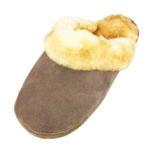 Men's Clearance Sheepskin Slip-On Slippers (Size Small & X-Large ONLY)