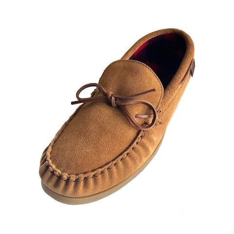 Men's Plaid Lined Driving Moccasins 9017DK (SIZE 9 ONLY)