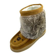 Women's Clearance Ankle Rabbit Fur Mukluks