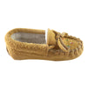 Baby Moose Hide Suede Fleece Lined Beaded Moccasins