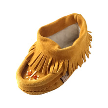 Baby & Child Fringed Beaded Moccasins