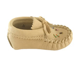 Baby Moosehide Beaded Moccasins 4337-B