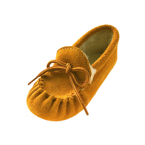 Baby & Child Suede Fleece Lined Moccasins Clearance 158-C