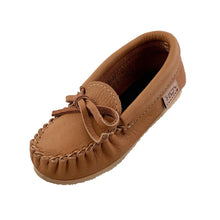 Junior Crepe Sole Moose Hide Moccasins