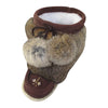 "Children's FINAL SALE 8"" Rabbit Fur Mukluks"