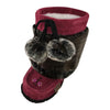 "Children's 8"" Canadian Mukluks Faux Fur"
