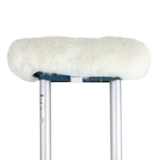 Natural Sheepskin Crutch Cover