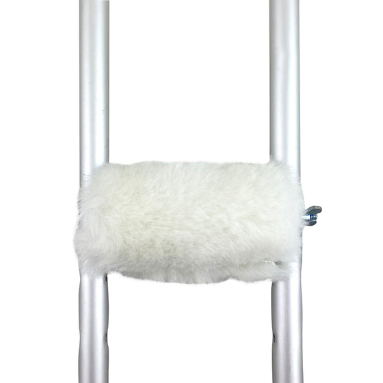 Natural Sheepskin Crutch Handle Cover