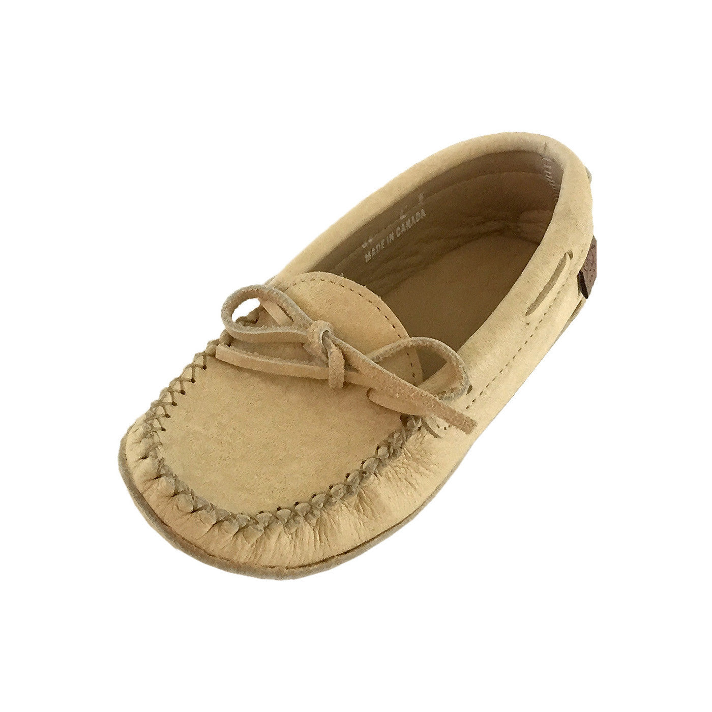 Women's Minnetonka Deerskin Softsole Moccasins - Country Outfitter