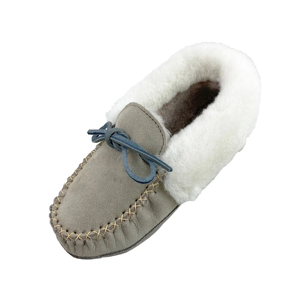 Women's Grey Clearance Sheepskin Slippers