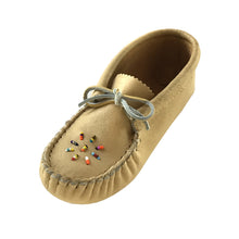 Children's Moose Hide Beaded Moccasins