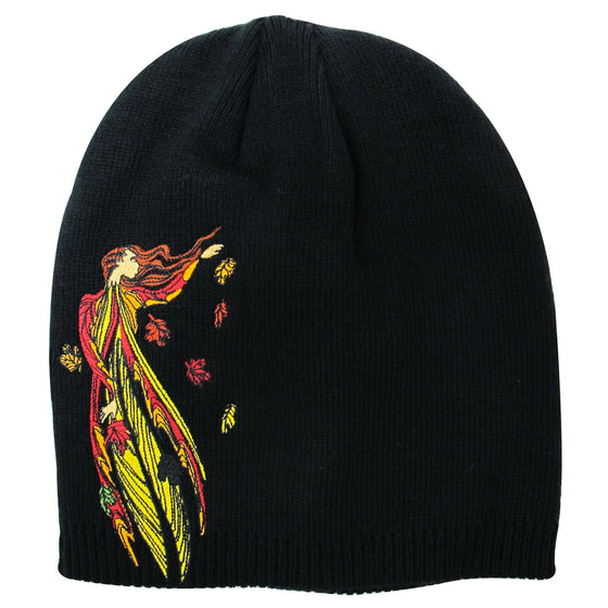 Maxine Noel Embroidered Knitted Hat