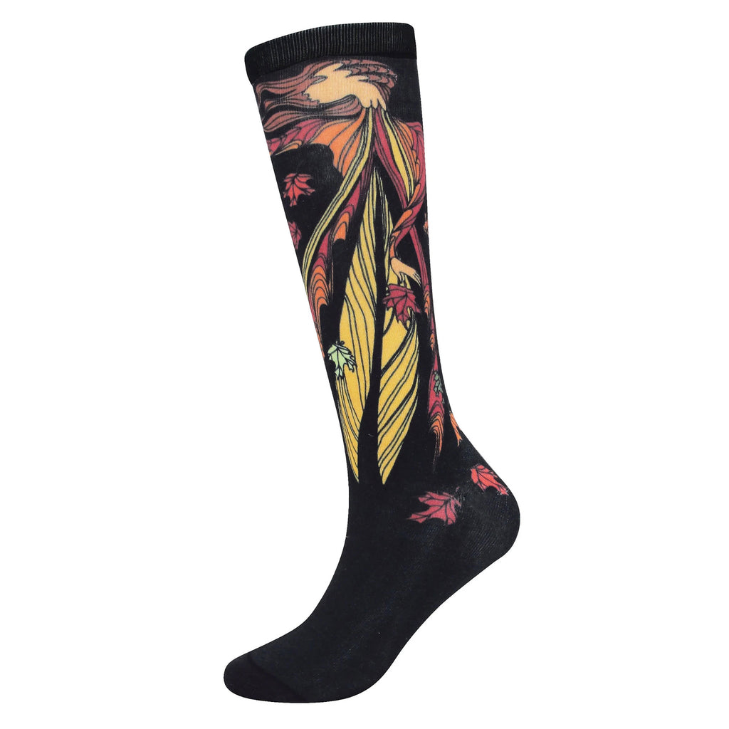 Maxine Noel Leaf Dancer Socks