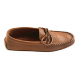 Men's Soft Sole Brown Leather Moccasins 9063