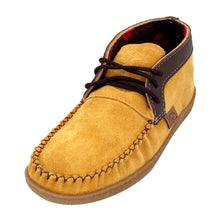 Men's Suede Leather Ankle Moccasin Boots