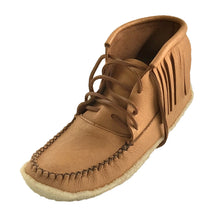 Men's Crepe Sole Moosehide Moccasin Boots