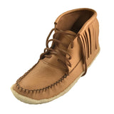 Men's Crepe Sole Moosehide Moccasin Boots B04219