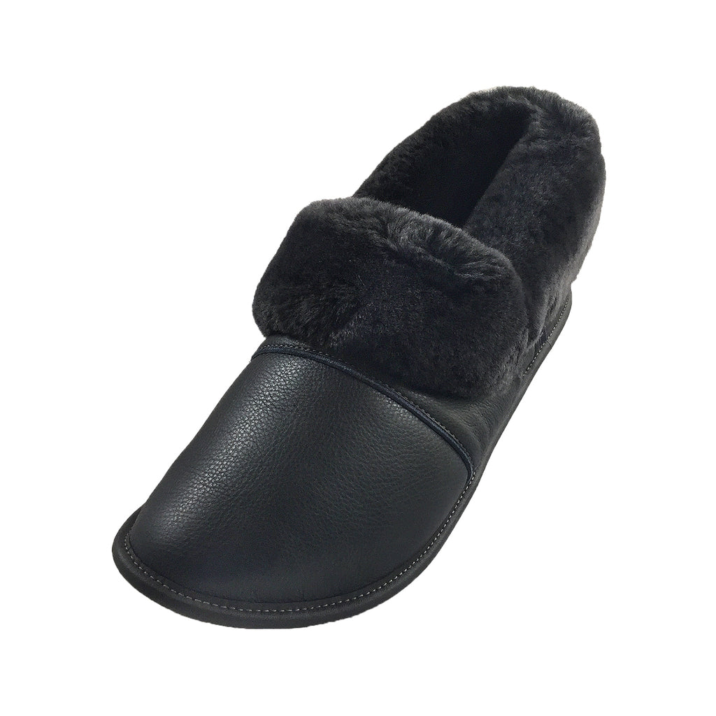 b00f94d90a468 Men's Leather Sheepskin Slippers 2550M (Select Colours/Sizes Available) ...