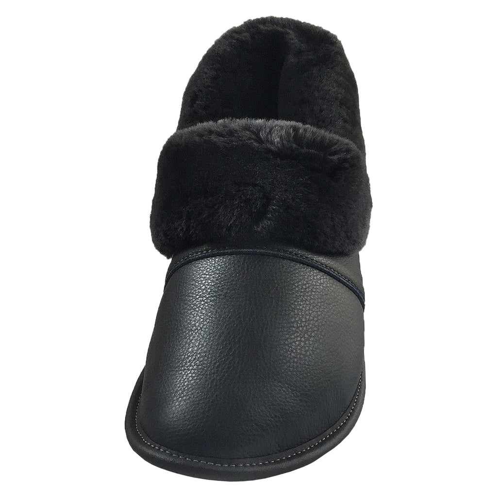 018b3ba0671 ... Men s Leather Sheepskin Slippers 2550M (Select Colours Sizes Available)  ...