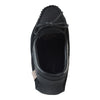 Men's Soft Sole Black Suede Leather Trim Moccasins