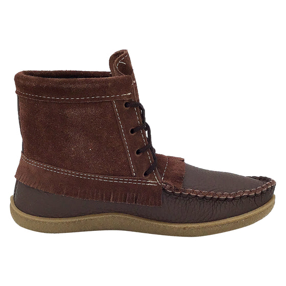 Men's Mohican Suede Leather Ankle Moccasin Boots
