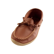 Men's Rubber Sole Leather Moccasin Shoes
