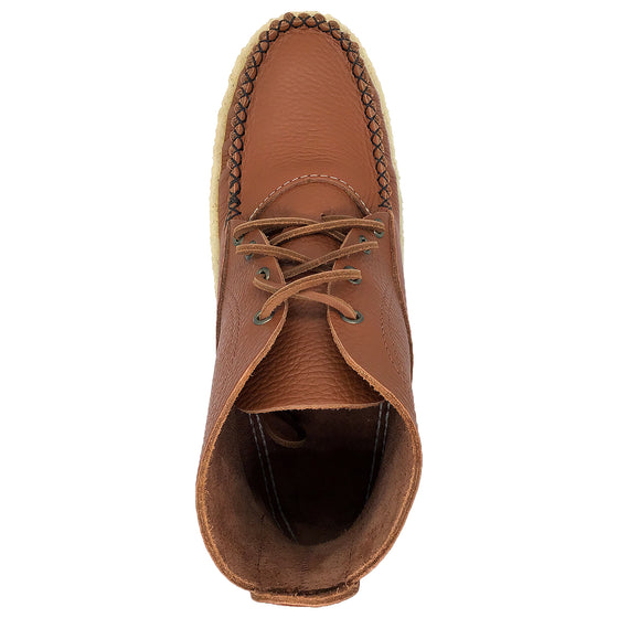 Men's Crepe Sole Moccasin Boots