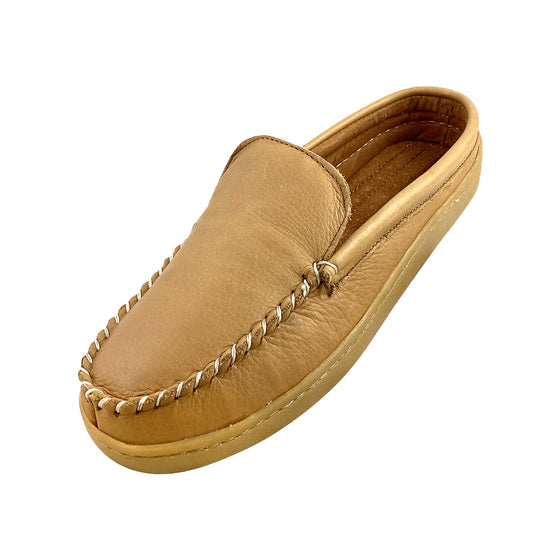 Men's Clearance Slip On Moose Hide Moccasins