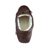 Men's Sheepskin Lined Moccasin Slippers