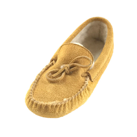 Men's Soft-Sole Moosehide Suede Moccasins 403