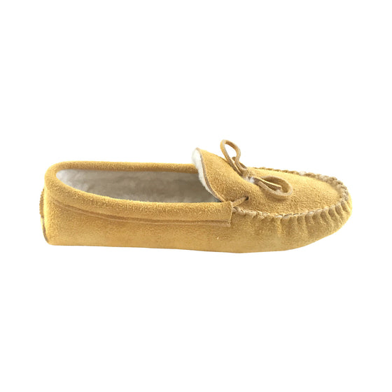 Men's Soft Sole Moosehide Suede Moccasins