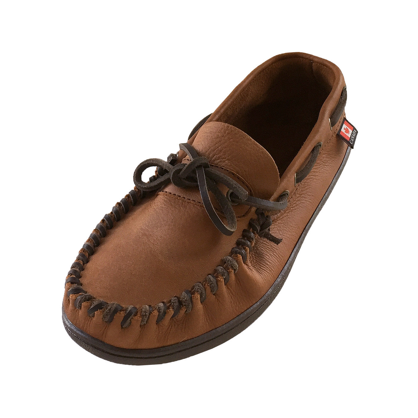 08865adab0b Men s Extra Wide Width Fit Rubber Sole Genuine Leather Moccasin ...