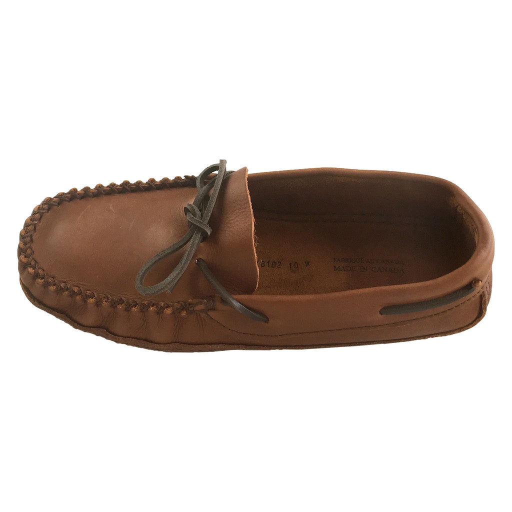4747bd46bcce Wide Width   Extra Large Moccasin Slippers for Big   Tall Men ...