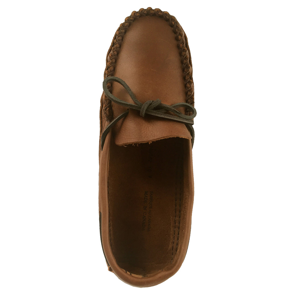 6a6203f5422 Wide Width   Extra Large Moccasin Slippers for Big   Tall Men ...