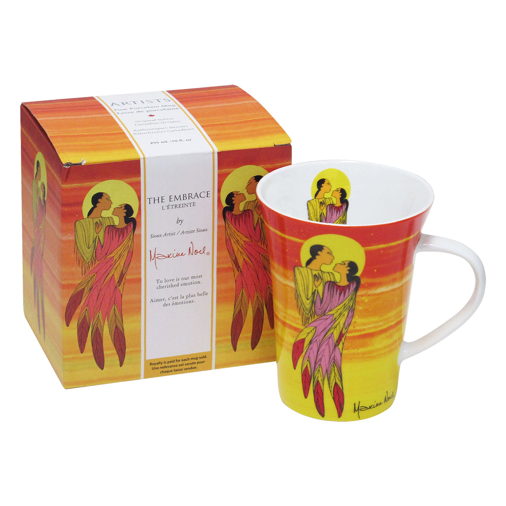 Maxine Noel The Embrace Porcelain Mug