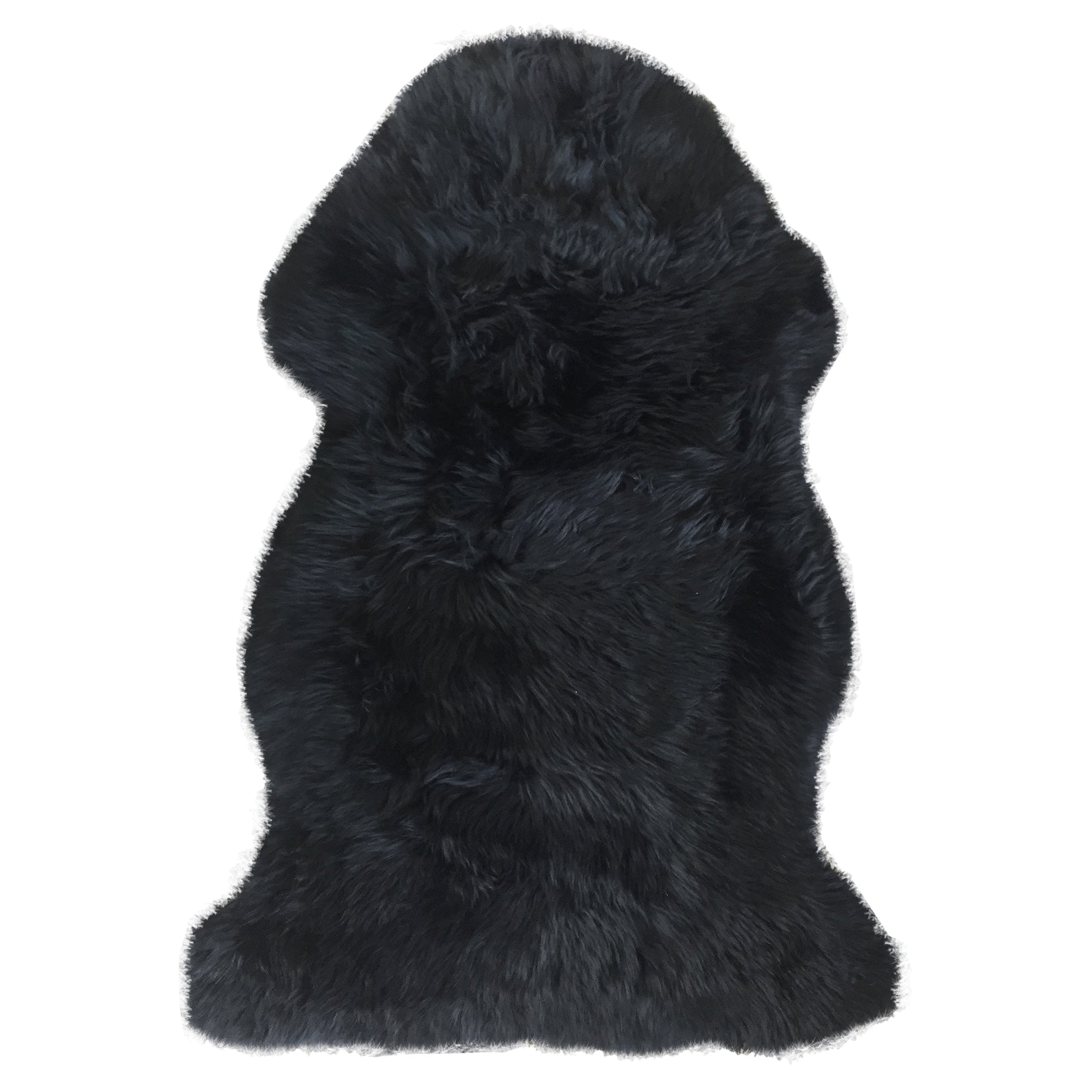 High Quality Black Sheepskin Motorcycle Seat Cover For