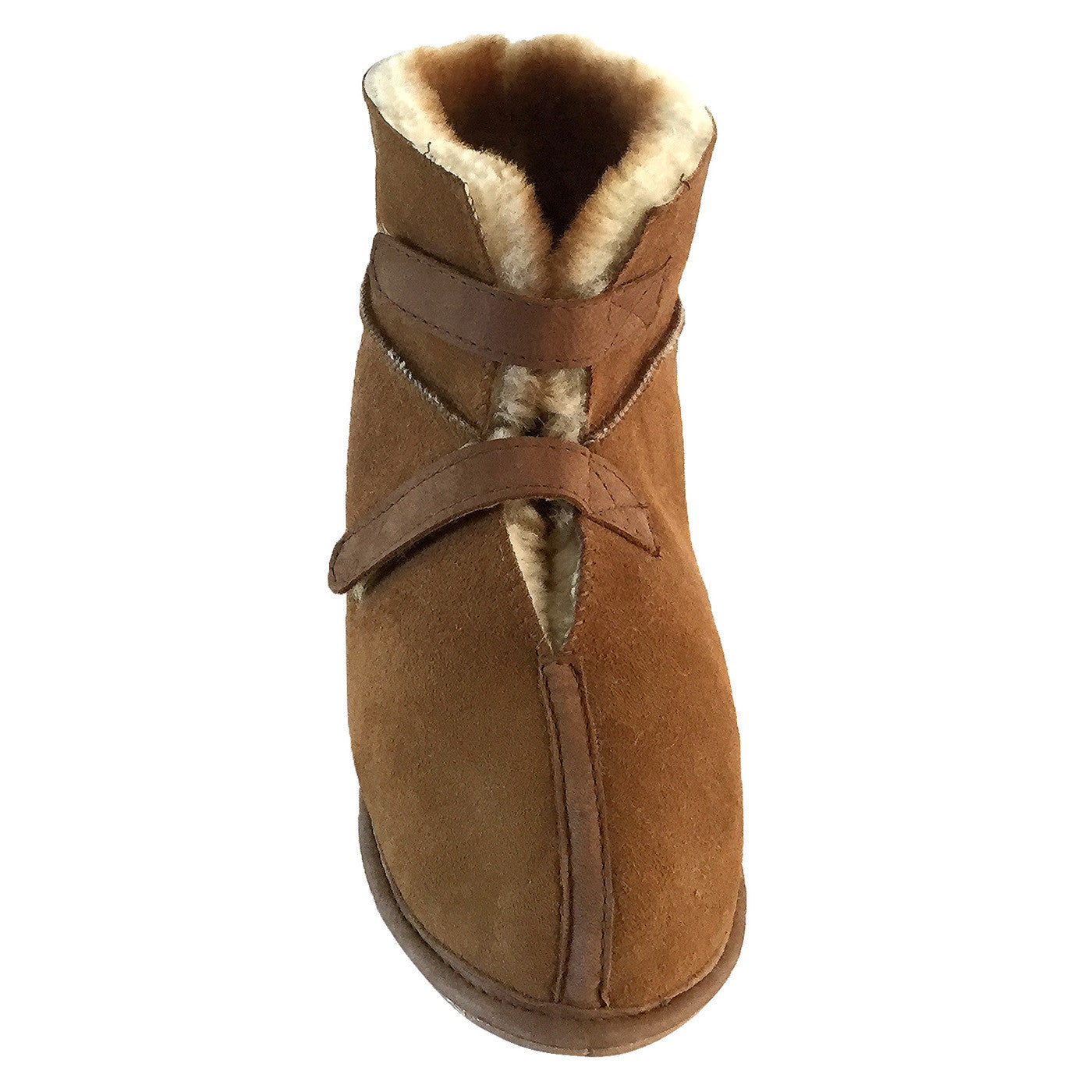 Real Sheepskin Cabin Slippers with