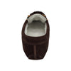 Women's Soft Sole Beaded Fleece Lined Suede Moccasins