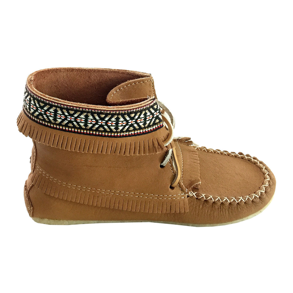 545442cc78419 Women's Moccasin Boots & Mukluks – Leather-Moccasins