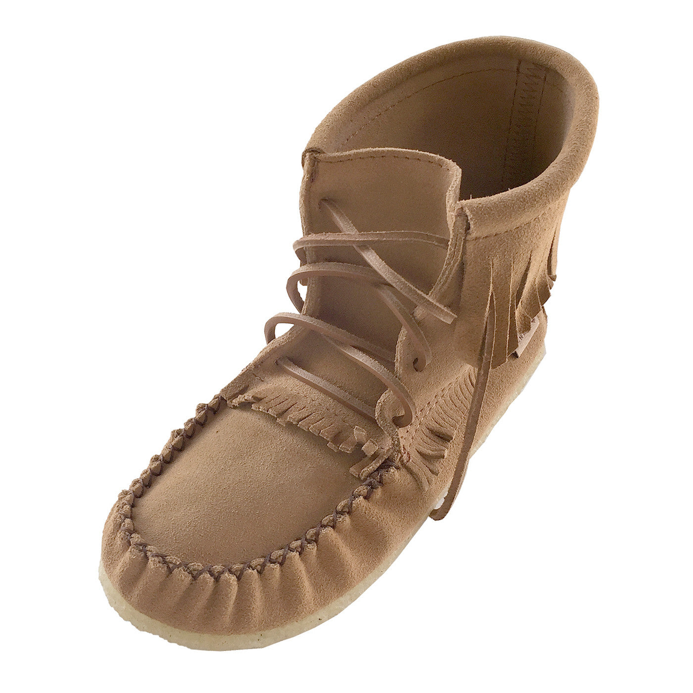 25eeed516aea9 Women's Apache Suede Moccasin Boots 137376