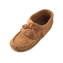 Women's Soft Sole Moose Hide Leather Moccasins